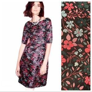 Boden Beatrice Floral Brocade Dress